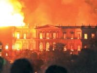 Brazilski muzej u plamenu